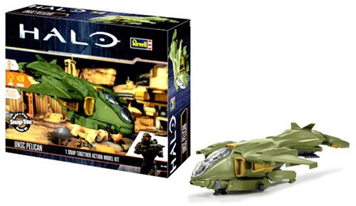 Revell Halo UNSC Pelican 1 Snap-Together Action Model Kit 28x33cm