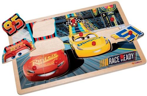 Disney Cars 3 Houten Puzzel 30x20cm-2
