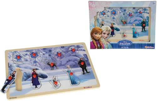 Disney Frozen Houten Puzzel 30x20cm