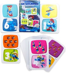 Smurfen Domino Kaartspel 6x9cm