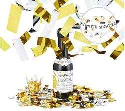 Party Popper Confetti kanon Champagnefles 31x9cm