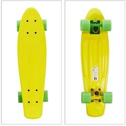 """Skateboard Geel 22"""" 57cm"""