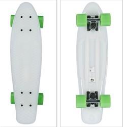 """Skateboard Glow in the Dark Groen 22"""" 57"""