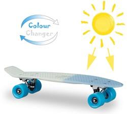 """Skateboard UV Kleurwisselend Blauw 22"""" 57cm"""