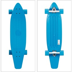 """Longboard Neon Blauw 38"""" 94cm"""