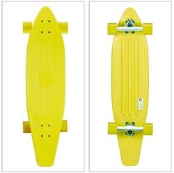 """Longboard Neon Geel 38"""" 94cm"""