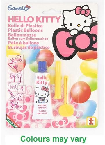 Hello Kitty Plastic Ballonmaker assorti 16x22cm