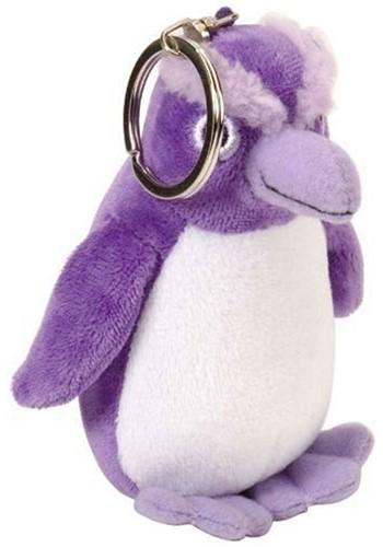 Wild Republik Sleutelhanger Pluche Pinguin Paars 9cm