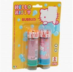 Hello Kitty Bellenblaas op Blister 2 x 60ml
