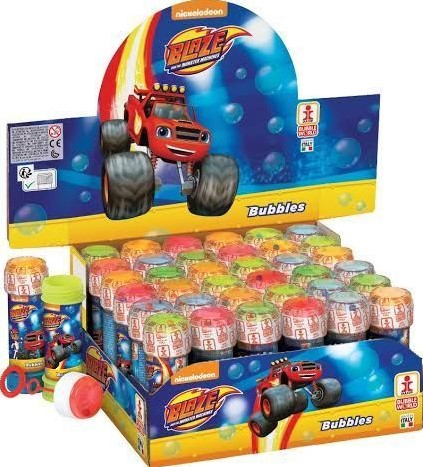 Blaze and the Monster Machines Bellenblaas 36 stuks in display 60ml