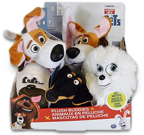 Secret Life of Pets Pluche 15cm 5 assorti in display