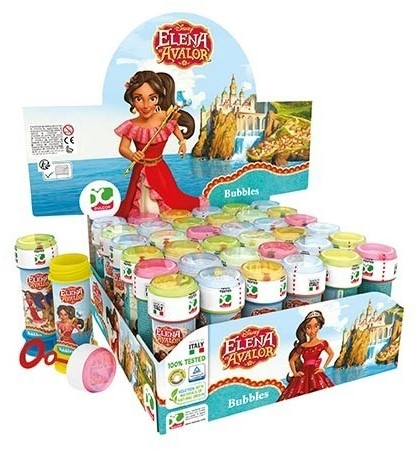 Disney Elena von Avalor Bellenblaas 36 stuks in display 60ml