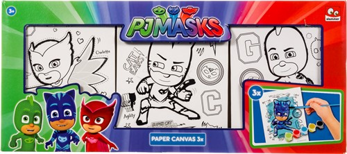 PJ Masks Canvas set a 3 stuks