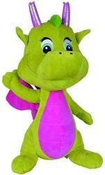Pluche Draak Safiras 25cm Groen