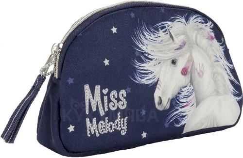 Miss Melody Make-up tas Paard Blauw