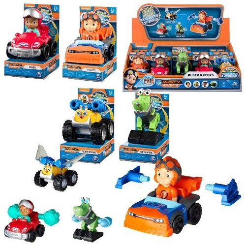 Spin Master Rusty Rivets Racers assorti in display