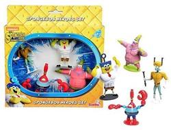 Spongebob Superhelden Figuren set