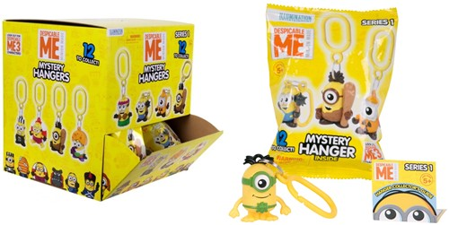 Despicable Me 2 Mystery Hanger 12 assorti 4cm in display (24)