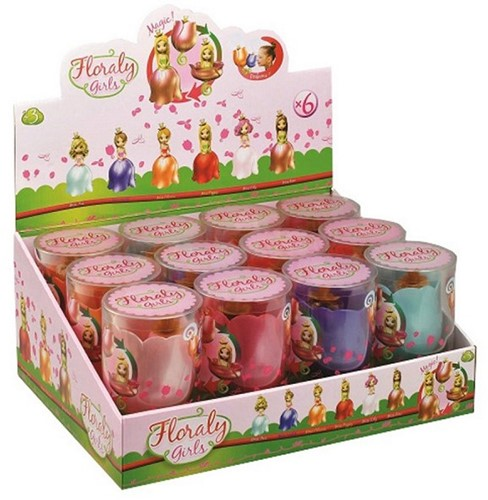Floraly Girls assorti in display 14cm