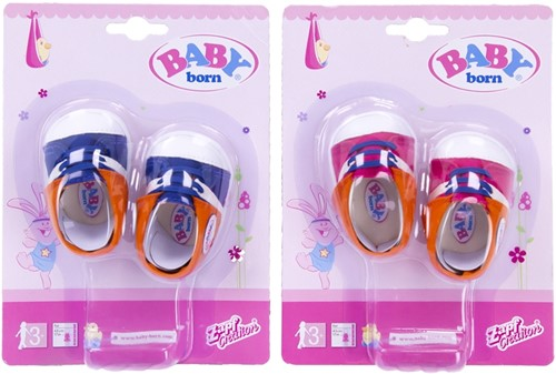 Zapf Baby Born Poppenschoenen 2 assorti