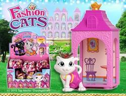 Blind Bag Fashion Cats verzamelfiguren assorti in display