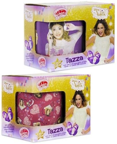 Disney Violetta Mok 2 assorti 9x10,5cm (Zonder Chocola)