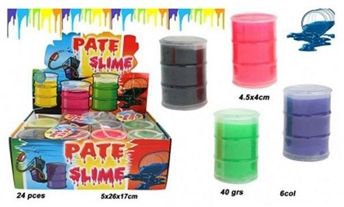 Putty Slime Oil 30gr. 6 assorti in display