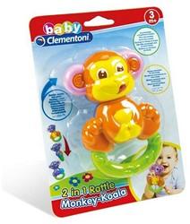 Clementoni Rammelaar Monkey-Koala 2 in 1