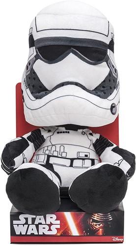 Star Wars Pluche Stormtrooper in Unique Velboa in display box 25cm