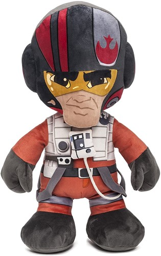Disney Star Wars Pluche Poe in Unique Velboa 45cm