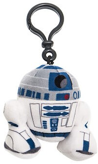 Star Wars Pluche Sleutelhanger R2-D2 8cm