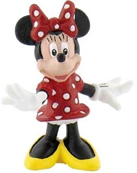 Bullyland Disney Minnie Mouse Type 1 staand 4cm (geen barcode)