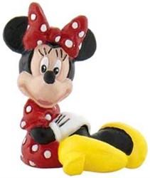 Bullyland Disney Minnie Mouse Type 2 zittend 4cm (geen barcode)