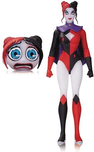 DC Figs Designer DC Superhero Harley Quinn 15x23cm-2