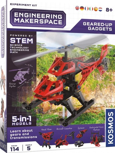 Kosmos Engineering Makerspace Geared-Up Gadgets 22x28cm