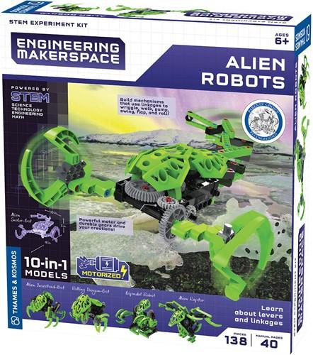 Kosmos Engineering Makerspace Alien Robots 25x28cm