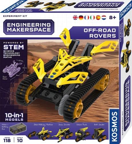 Kosmos Engineering Makerspace Off-Road Rovers 25x28cm