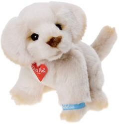 Pluche hond Golden Retriever 17cm