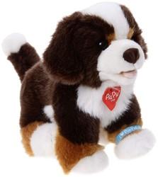 Pia Pia Pluche Hond Bernersenner zittend 20cm