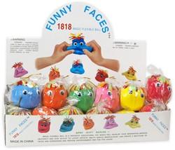 Funny Faces Kneedfiguren in display 6cm