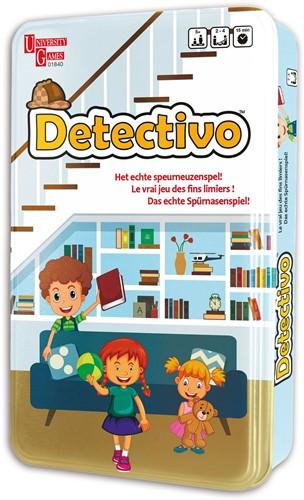 """Detectivo """"Het echte Speurneuzenspel!"""" Game 12x19cm"""