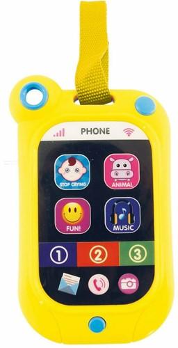 Bieco Baby Smart Phone licht + geluid (zonder batterijen)