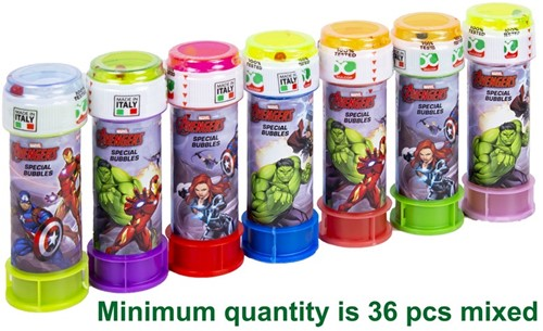Dulcop Avengers Bellenblaas assorti 60ml