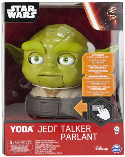 Star Wars Yoda Jedi Talker Pratend Bewegend BO UK