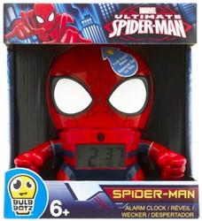 Marvel Spiderman Wekker met licht 20x23cm