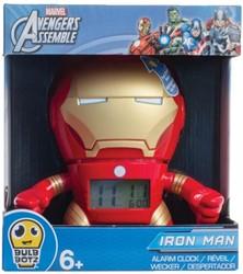 Marvel Avengers Iron Man Wekker met licht 20x23cm