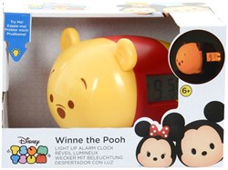 Disney Tsum Tsum Winnie de Poeh Wekker met licht 21x13cm