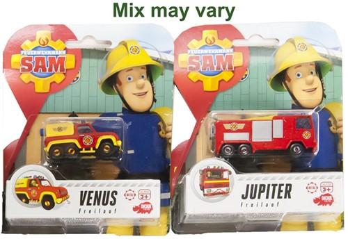 Brandweerman Sam Die-cast voertuigen 2 assorti