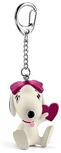 Schleich Sleutelhanger Snoopy Belle met hart