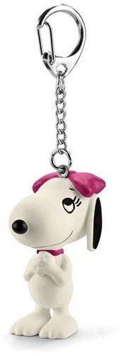 Schleich Snoopy Belle Sleutelhanger
